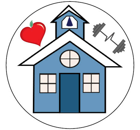 Community Ed and Rec schoolhouse logo
