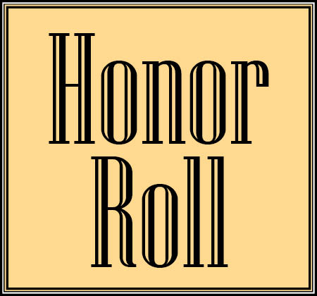 orange honor roll icon