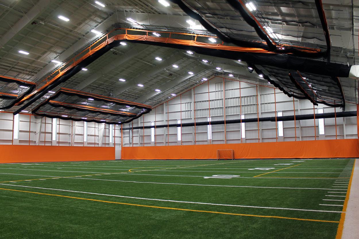 multi-purpose facility interior