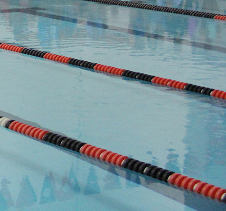 Close-up of PHS pool