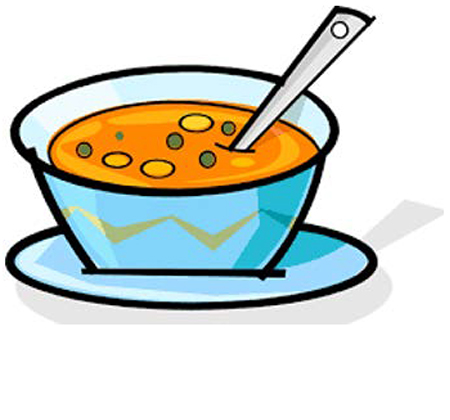 drawing of soup bowl