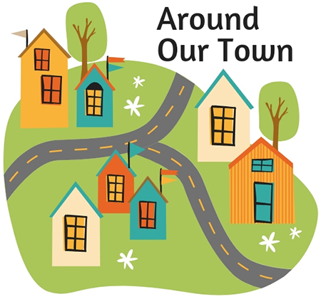 Around Our Town logo