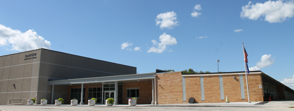 Front of Fairview Elementary School