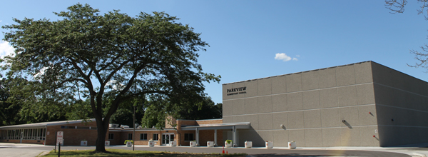 Front of Parkview Elementary School