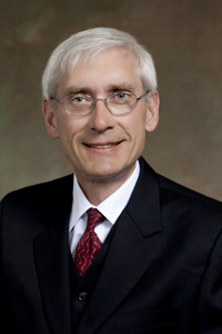Tony Evers portrait