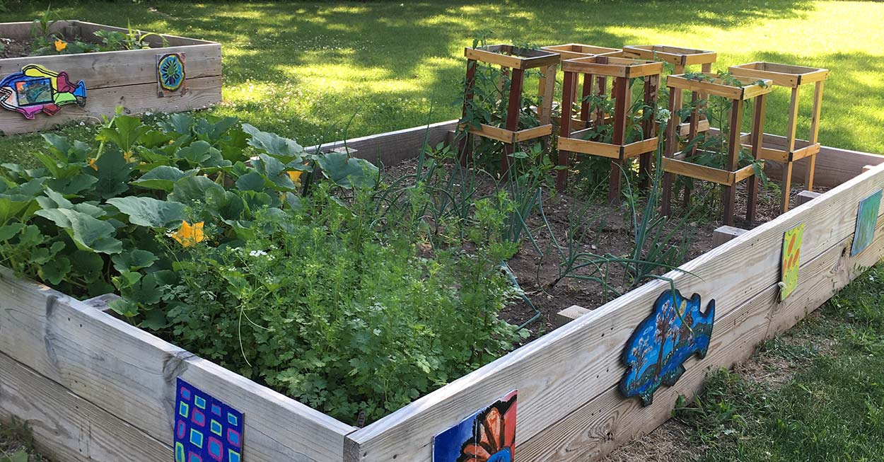 Youth Center garden