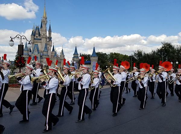 PHS Marching Band at Disney